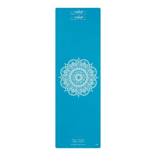 Reisematte Inhale Joy Mandala Türkis