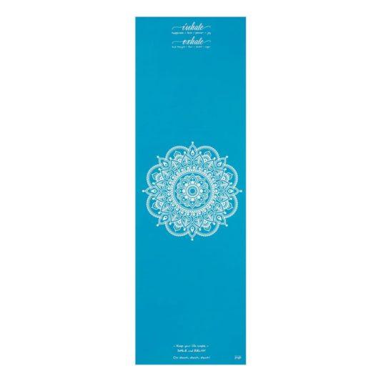 Yogatuch Inhale Joy Mandala Türkis