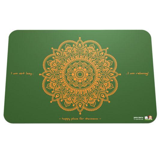 Petmat – Mandala grün